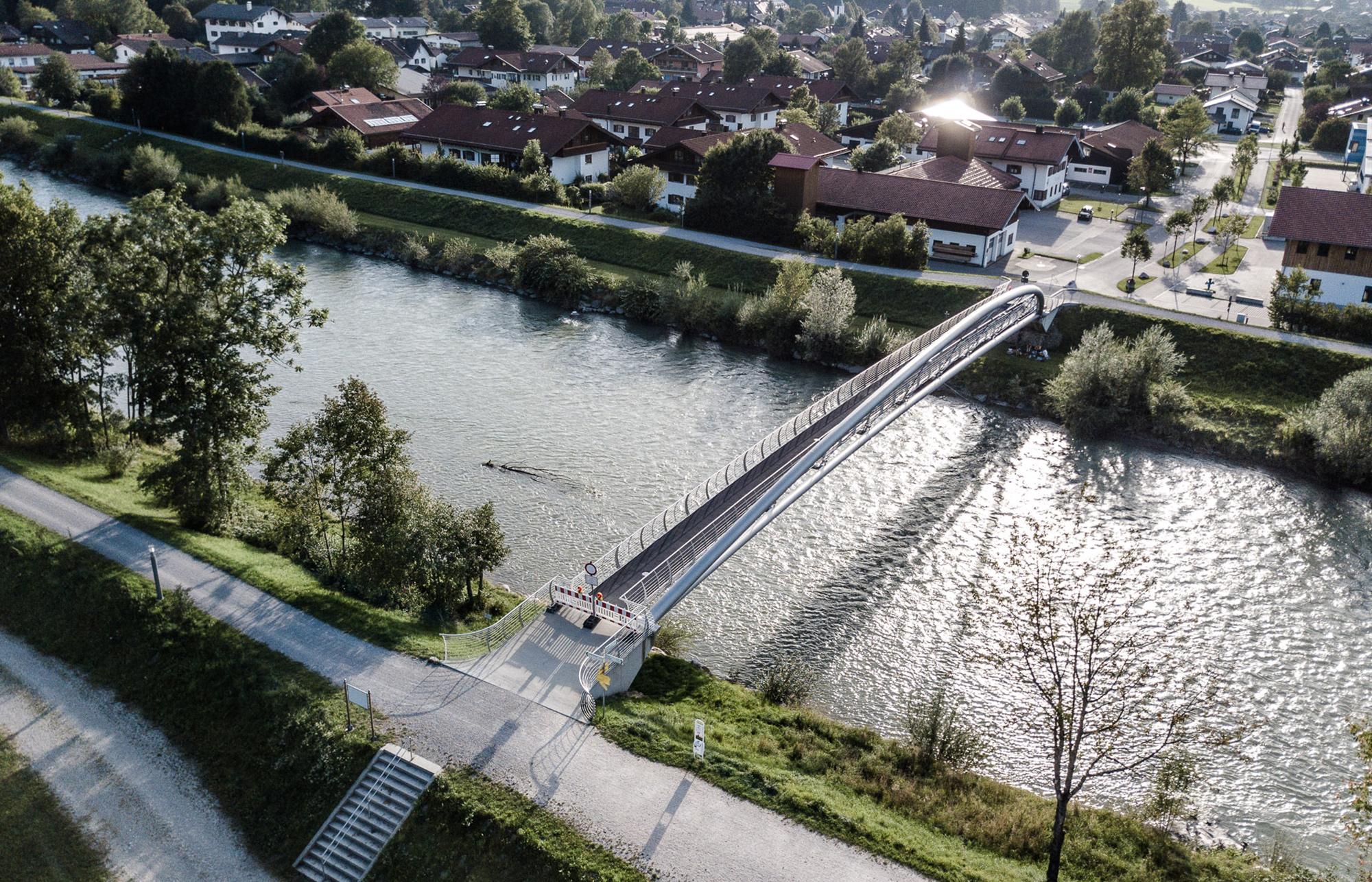 FUSSGÄNGERBRÜCKE MARQUARTSTEIN – Köppl Ingenieure
