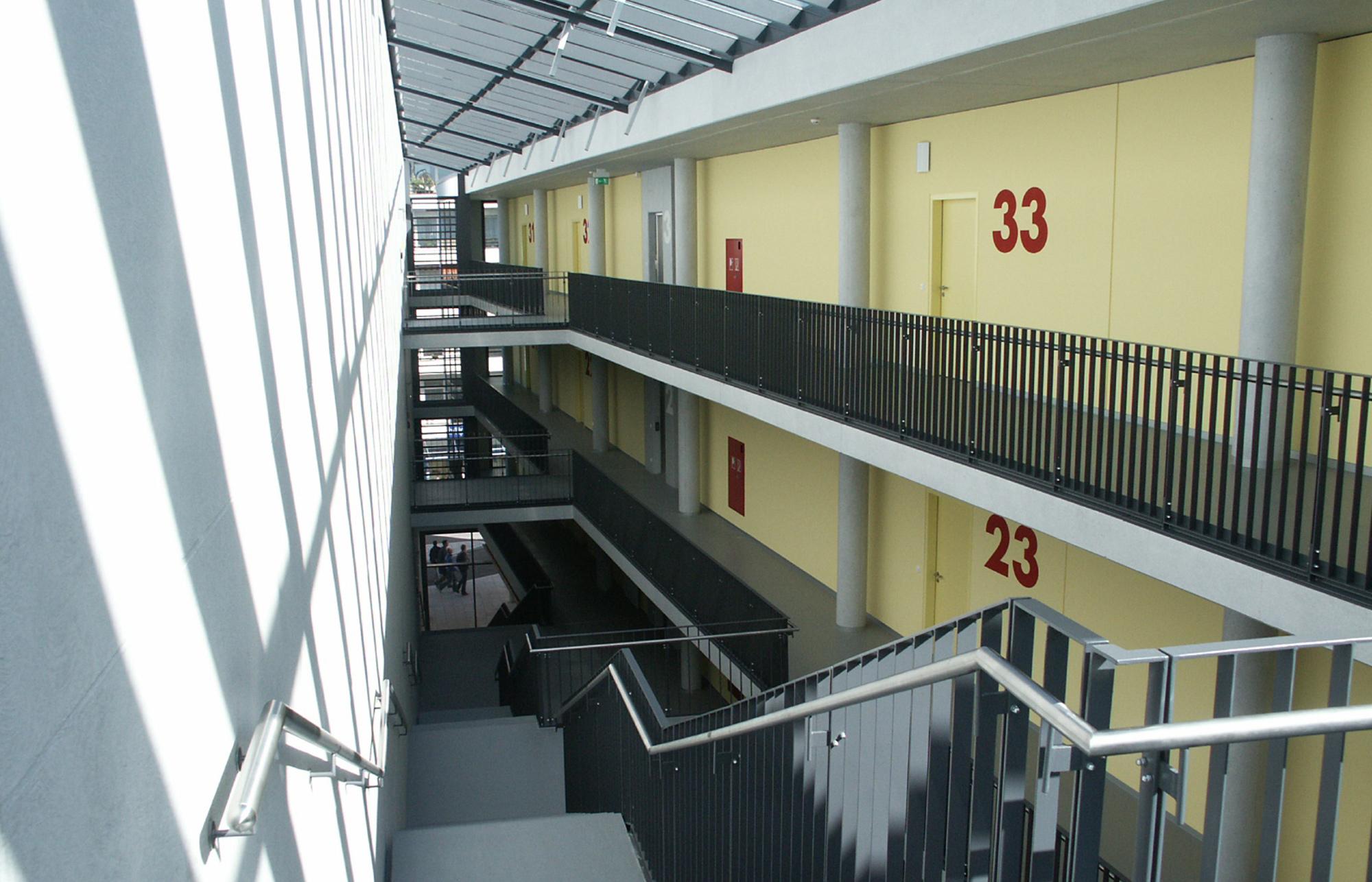 Volkshochschule parkhaus k ppl ingenieure for Architekturburo rosenheim